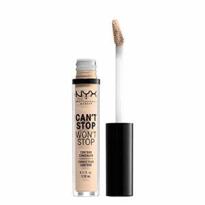 NYX Professional Makeup Anticernes/Correcteur – Can't Stop Won't Stop Contour Concealer – Light Ivory