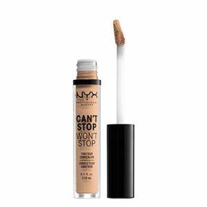 NYX Professional Makeup Anticernes/Correcteur – Can't Stop Won't Stop Contour Concealer – Natural