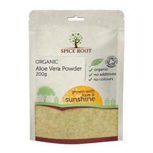 Poudre d'Aloe Vera Bio 200g (Aloe Vera Leaf Powder) – Qualité Premium, Certifié Biologique | Vegan