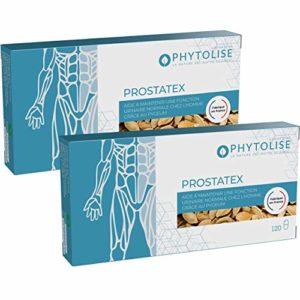 PROSTATEX complément alimentaire • Confort urinaire | 240 gélules | Hypertrophie bénigne de la prostate | Mictions | Sabal Serenoa repens | Courge | Ortie | Pygeum Prunus africana | Fabriqué en France
