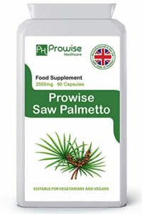 Prowise Saw Palmetto Extract 2500mg 90 Capsules – UK Manufactured