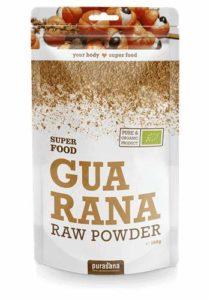 Purasana – Super Food – 100 gramme – Poudre de Guarana 100% biologiques