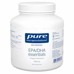 PURE ENCAPSULATIONS EPA/DHA essent. 1000 mg Gélules 180 Pièces gélules