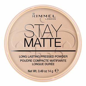 Rimmel – Stay Matte – Poudre matifiante – Beige Soyeux – 14 g
