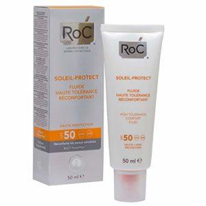 RoC Soleil-Protect Fluide Haute Tolérance Réconfortant SPF 50 50 ml
