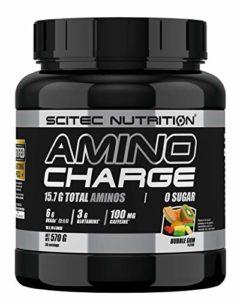 Scitec Nutrition Acides Aminés Amino Charge Bubble Gum 570 g