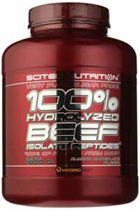 Scitec Ref.107485 Protéine Peptide de Bœuf Complément Alimentaire 1,8 kg