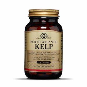 Solgar Kelp Norvégien Iode 250 Comprimés