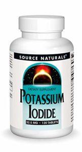 Source Naturals, Iodure de Potassium ( Potassium Iodide ) 32.5mg x120tabs