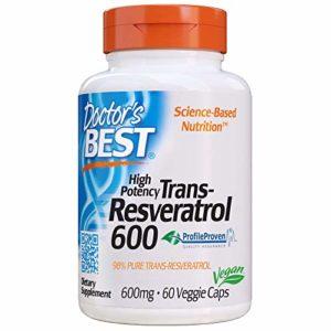 Trans-Resveratrol 600, 600 mg, 60 Veggie Caps – Doctor's Best
