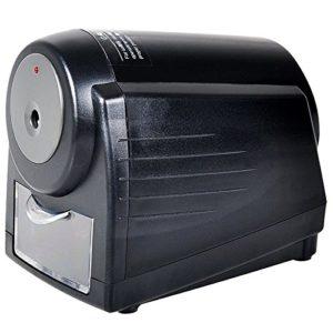 220V Automatique Affûteur De Crayons Durables Et Portatifs Taille-Crayon pour L'école À La Maison, Noir