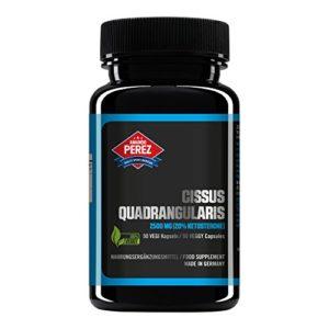2500 mg d'extrait de Cissus – 20% kétostérones
