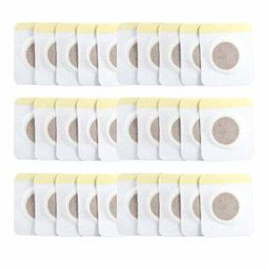30 Patchs Minceur Perte de Poids Detox Amincissement Brûleur des Graisses Patch de Nombril avec Aimant