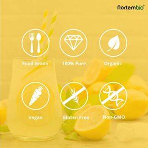 Acide Citrique 2 kg (4x500g), La Meilleure Qualité Alimentaire. NortemBio. Développé en France.