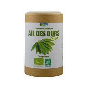Ail des ours Bio – 200 gélules végétales de 280 mg
