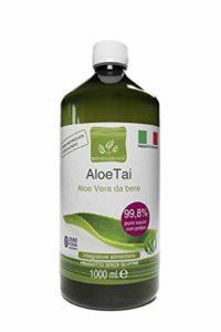 ALOETAI – ALOE VERA A BOIRE PUR A 99,8 % 1000 ml – PRODUIT ITALIEN