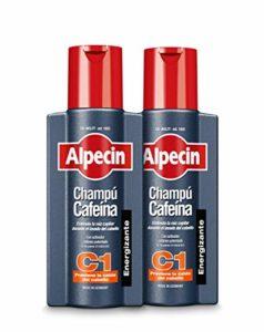 Alpecin Caféine Shampooing C1, 2×250 ml = 500 ml – Shampooing anti-chute