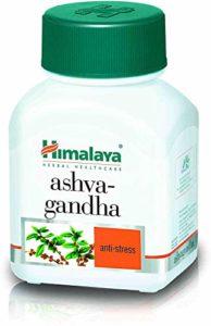 Ashwagandha par HIMALAYA HERBALS | Tout le soulagement normal d'Anti d'effort et d'Anti Anxiety, capsules d'Ashwagandha pour votre dose quotidienne d'énergie Favorise un sommeil sain | Capsules végétaliennes – 60 unités (1 paquet)