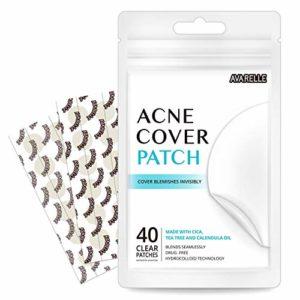 Avarelle acné Cover tache Patch hydrocolloïde, théier et huile de calendula (PACK / 40 VARIÉTÉ Patches)
