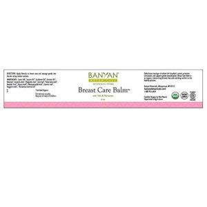 Banyan Botanicals Baume de soin maternel – certifié biologique, 4 oz – Tulsi & Palmarosa à l'aide de massage pour les soins réguliers de cancer du sein