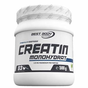 Best Body Nutrition Premium Croissance et Support Musculaire Créatine Monohydrate 500 g