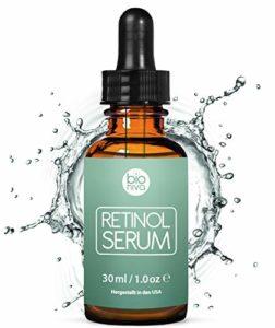 bionura Retinol 2,5%, Vitamine C 20% & Acide Hyaluronique Anti-Âge Sérum tenseur