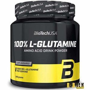 Biotech USA 12013020000 100% L-Glutamine Acide Aminé