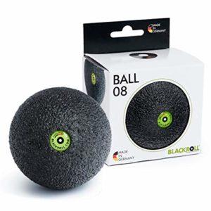 BLACKROLL BALL 08 – la balle de massage originale. Outil d'automassage pour les fascias, petit 08 cm