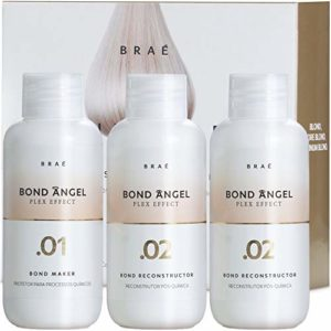 Bond Angel Plex Effect, Bond Multiplier Treatment Kit for Bleaching and Coloring protection for All Hair Types – 100ml Step1,2,2