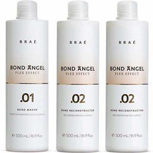 Bond Angel Plex, effet Multiplicateur de Bond kit de traitement pour blanchiment et coloriage protection pour tous les types de cheveux–Step1,2,2