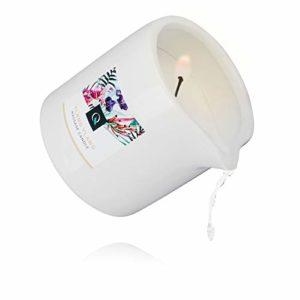 [Bougie de Massage à Ylang Ylang] Exotiq Massage Candle Ylang Ylang (200 ml) Rechargez vos batteries avec un massage relaxant – Cire de massage de haute qualité