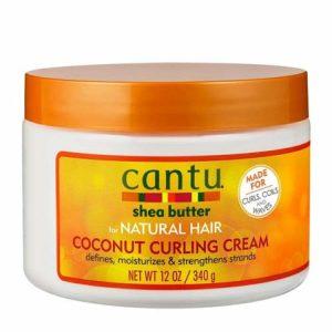 Cantu Beurre de Karité pour Cheveux Naturels Noix de Coco 340 g