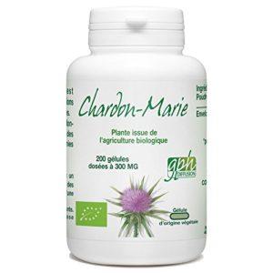 Chardon Marie Bio – 200 gélules végétales