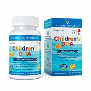 Children's DHA (Chewable) Strawberry 180 sgels