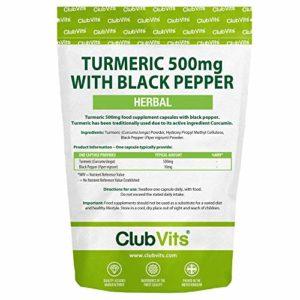 Club Vits – Curcuma (Curcumine) – 90 Capsules