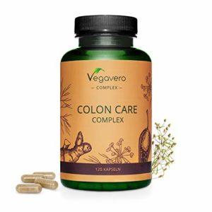 COLON CLEANSE | 120 Gélules | Côlon Irritable – Nettoyage Intestinal – Colopathie – Aérophagie | Probiotiques + Psyllium Blond + Fenouil + Piment Doux + Gingembre + Galanga | Vegavero