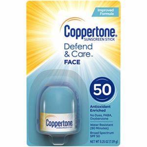 Coppertone Defend & Care Sunscreen Stick SPF 50 (0.25-Ounce)