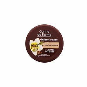 Corine de Farme Graisse à Traire Parfum Vanille 150 ml – Lot de 2