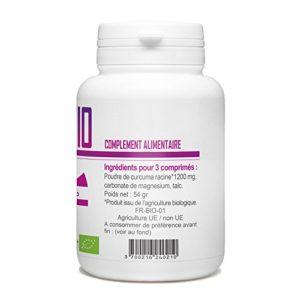 Curcuma Bio – 400 mg – 120 comprimés