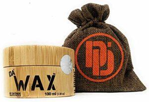 Da'Dude Da'Wax Cire Coiffante Cire Capillaire Ultra Forte et Modelage avec Maintien et Fixation – Effet Mat – Coffret bois cadeau Délux – 100 ml