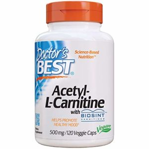 Doctor's Best, Meilleur Acetyl-L-Carnitine HCl, 588 mg, 120 Capsules