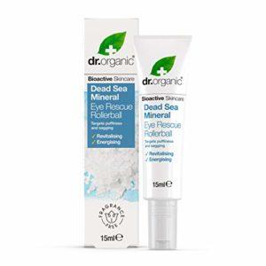 Dr. Organic Roll-On Rescue aux Minéraux de la Mer Morte 15 ml