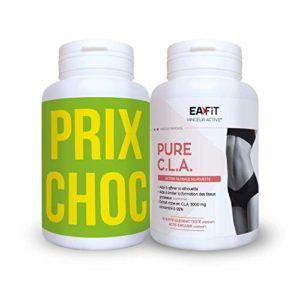 EA FIT – EADUOPURECLA – Brûleurs de graisse Duo Pure Cla – 2 Piluliers de 90 capsules