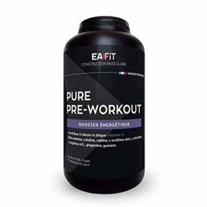 EAFIT Pure Pre Workout Boosters de Testostérone 330 g