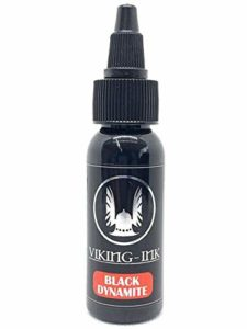 Encre de tatouage blanc – Tattoo Ink Black Dynamite 1oz (30ml) VIKING INK USA VEGAN