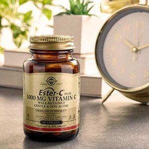 Ester-C Plus, 1000, 180 mg Comprim̩s РSolgar