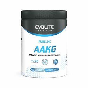 Evolite Pure Line AAKG 300g pompe muscles endurance libido testostérone