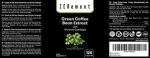 Extrait de Café Vert avec Garcinia Cambogia pure, 120 gélules, pour Perdre du Poids, Brûler les Graisses et diminuer l'appétit, Sans OGM, 100% Naturel