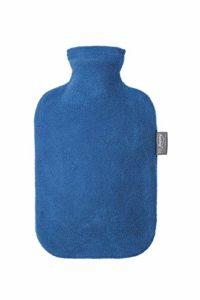 Fashy 6530 54 2007 Bouillotte avec Housse Polaire Bleue 2 L