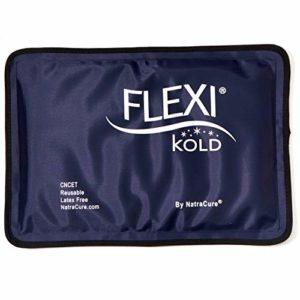 Flexikold Compresse Froide de Gel de Glace Réutilisable (Moitié de la taille: 19 cm X 29,2 cm) (A6303-COLD)